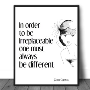 presentation_CocoChanel_Inordertobeirreplaceable